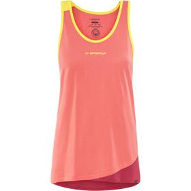 La Sportiva Dihedral - Camisa sin mangas Mujer - naranja